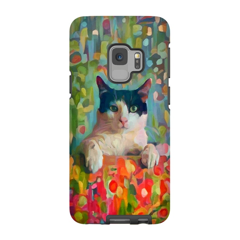Custom Art Pet Portrait Abstract Floral Style Phone Cases Painting From Photo Custom Painting Digital Painting Custom Pet Portrait