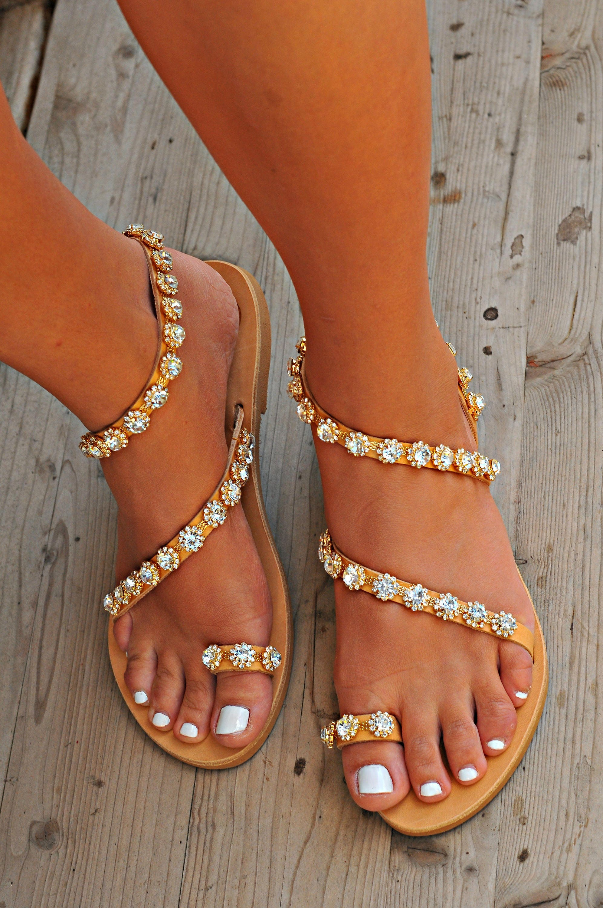 b71aa841a76fd women handmade bridal sandals. ancient greek leather sandals ...