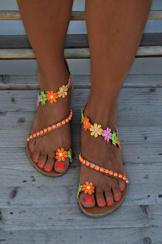 Hippie Sandals Cleopatra Gypsy Sandals Boho Sandals Handmade Sandals Women Sandals Luxury Sandals Greek Leather Sandals