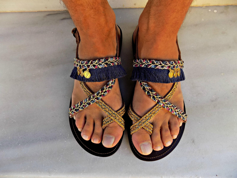 06b770389282 Boho Mens Sandals