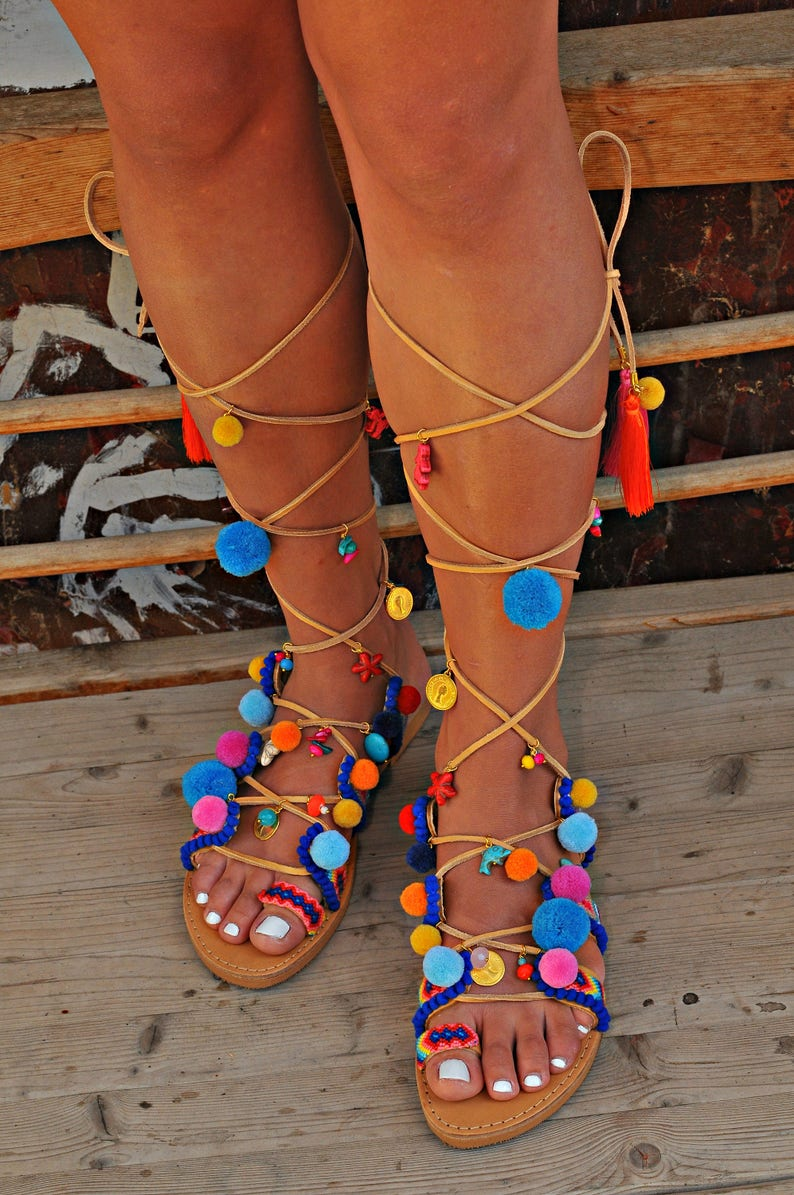1e2c362962b Women Sandals Handmade Sandals Gladiator Sandals Greek
