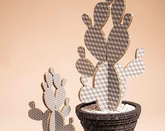 Cactus Cube Gray Small size