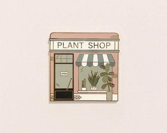 Plant Kiosk Pin Pin Club Pin Flair