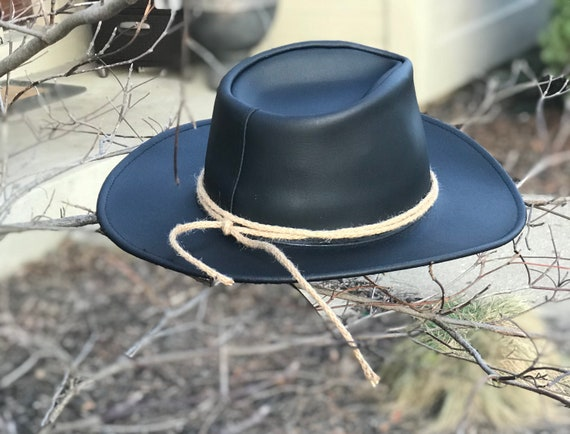 Rdr2 Hat Real Leather Twine Arthur Morgan Cosplay Replica Western Cowboy Version Made In Usa Valentines Gift For Rdr Fans Rdr