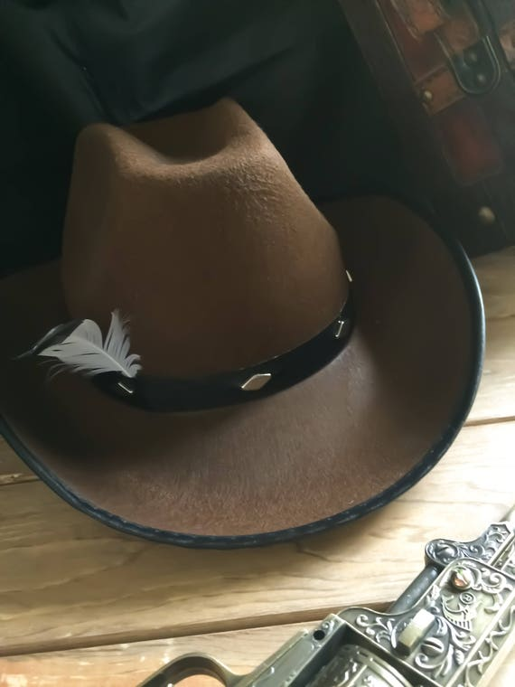 Red Dead Redemption Rdr2 Cowboy John Marston Not Arthur Morgan Western Hat With Feather Cosplay Costume Rdr Rdr2 Johnmarston Gift