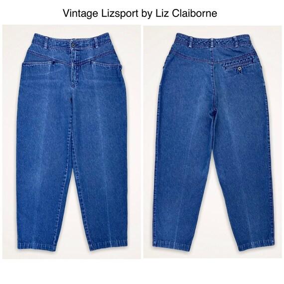 Liz Claiborne Lizsport Vintage Baggy Blue Jeans
