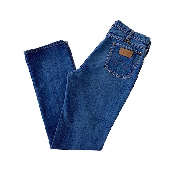 Vintage Wrangler Jeans 946DEN Men's 36x33 Blue Den