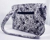 Quilted Purse, Quilted Handbag, Fabric Handbag, Homemade Purse, Fabric Purse, Quilted Shoulder Bag, Fabric Shoulder Bag, Homemade Handbag