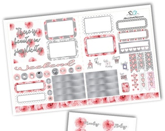 Simplicity Pocket TN Weekly Kit Planner Stickers/Pocket Travelers Notebook Kit Planner Stickers
