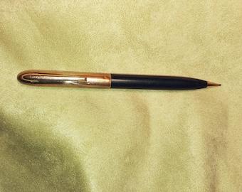 Vintage Mechanical Pencil, Wearever Mechanical Pencil, Gold tone and Dark Green Mechanical Pencil