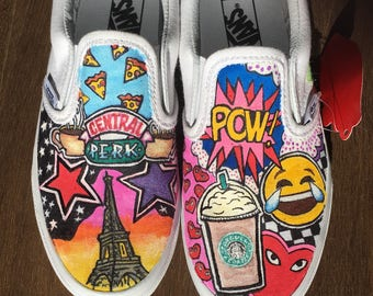 928734b2e71c6b Girls custom vans sneakers. New York