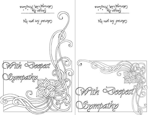 download sympathy card - Sansu rabionetassociats com