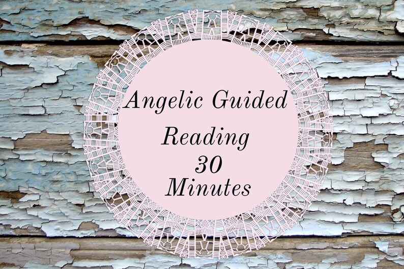 Angelic Guided Reading 30 Minutes image 0