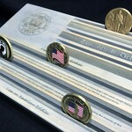 Army Challenge Coin Display - Soldier's Creed - This We'll Defend - Military Coin Holder - Personalized - Customizable