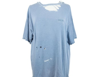 90s Blue Naturally Distressed T-Shirt