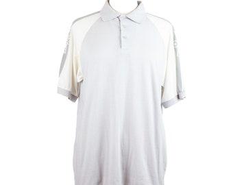 70s Spaulding Gray White Polo Shirt