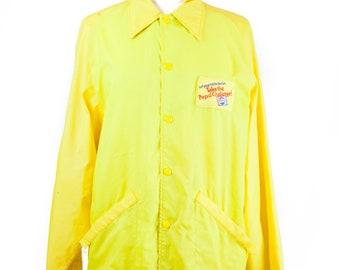 Rare 60s Yellow Pepsi Challenge Jacket