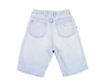 90s Guess Youth 10 Light Wash Denim Jean Shorts