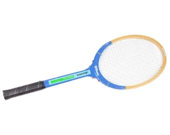 50s Wilson Blue Wooden Tony Trabert Tennis Racket