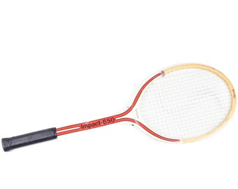 50s Spaulding Impact Red Tom Gorman Tennis Racket