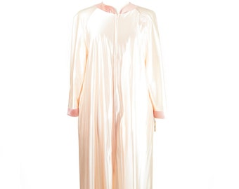 New 70s Apricot Lorraine Robe Gown