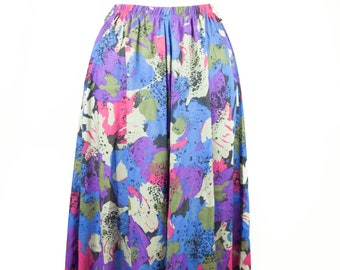 90s Binder Abstract Mid-Length Skirt M L