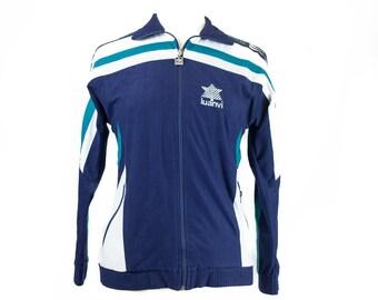90s Navy White Luanvi Sport Jacket S