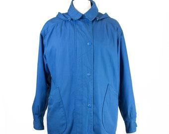 60s-70s London Towne Blue Women's Coat