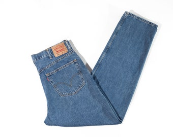 90s Levi's 550 Relaxed Fit Men's Jeans