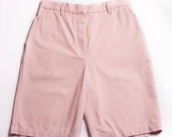 90s Polo Ralph Lauren Light Pink Golf Shorts