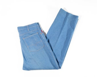 70s Mustang Creased Men's Straight Leg Jeans