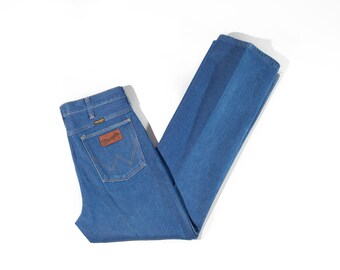 80s Starched Wrangler Bootcut Jeans