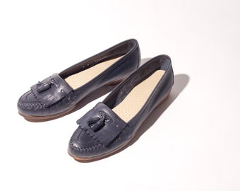 80s Navy Naturalizer Loafers
