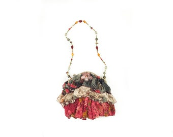 Hocus Pocus Mary Frances Stone Beaded Handbag
