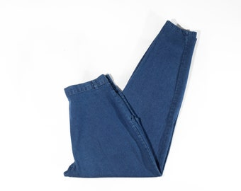 80s Pleated High Waist Relaxed Fit Mom Jeans