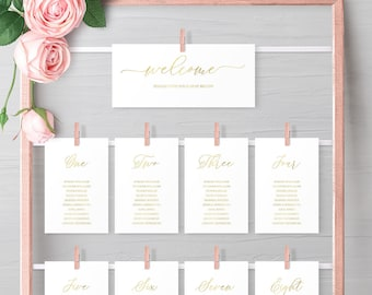 Seating Chart Printables