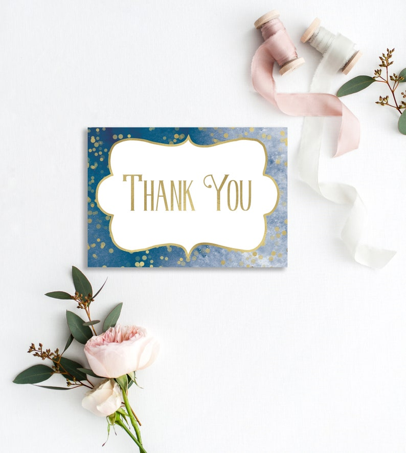 Baby Shower Thank You Cards Twinkle Twinkle Little Star Thank image 0