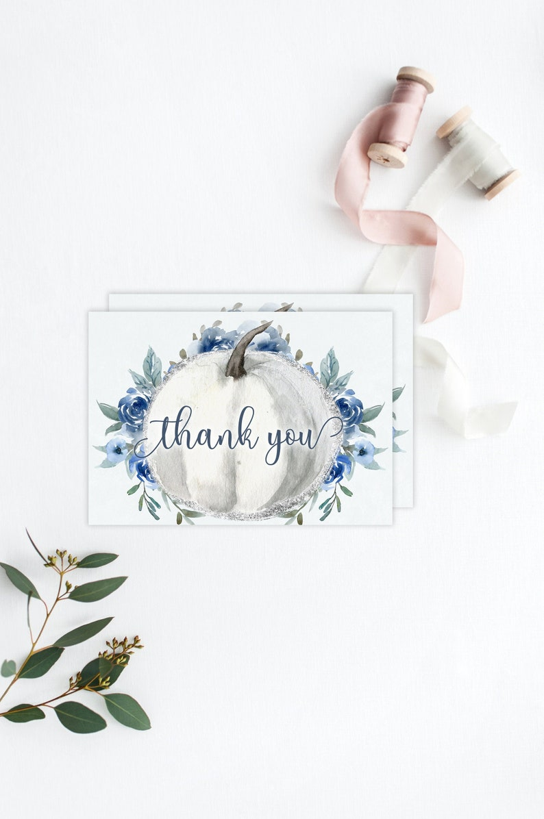 Baby Shower Thank You Cards Printable Boy Baby Shower Thank image 0