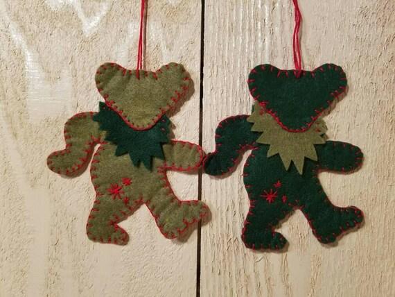 Grateful Dead Christmas Ornament.Grateful Dead Christmas Ornaments