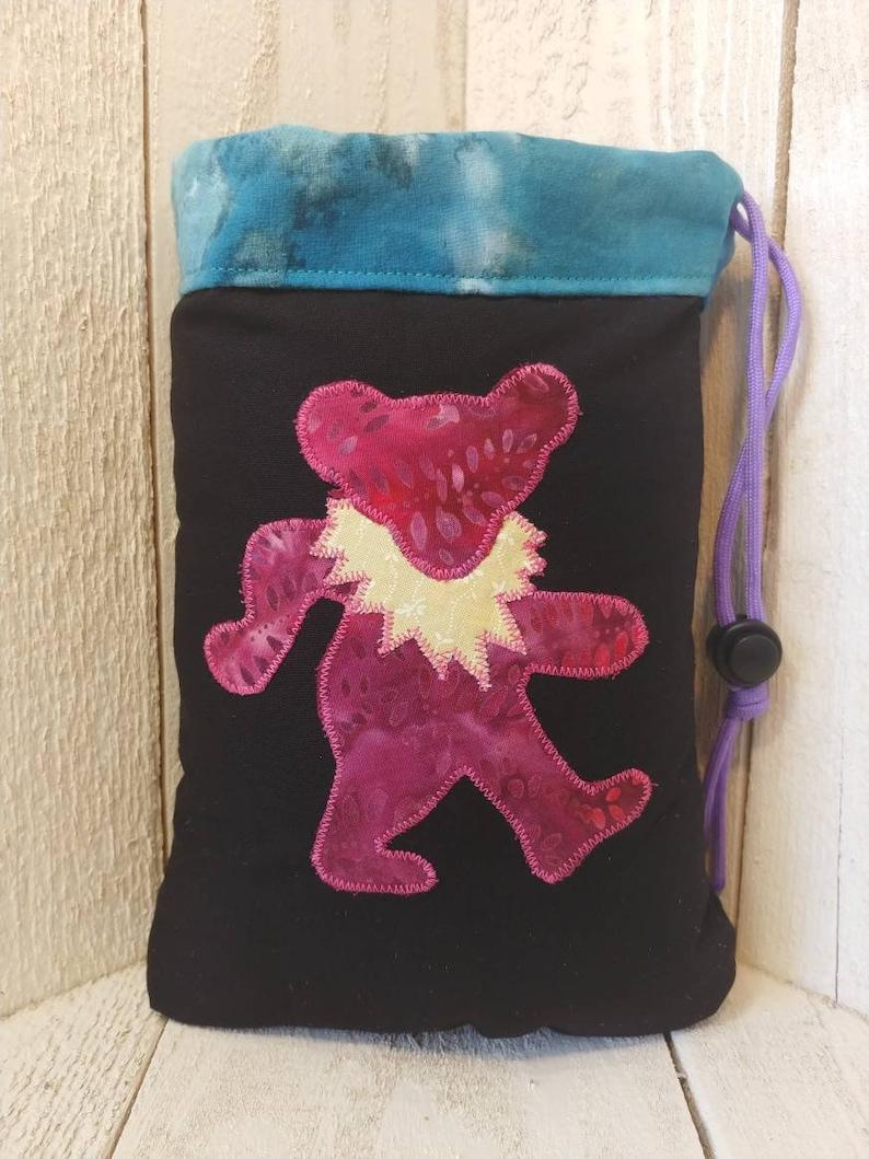 Grateful Dead Bear padded pipe bag size large