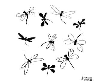 Download Dragonfly svg   Etsy