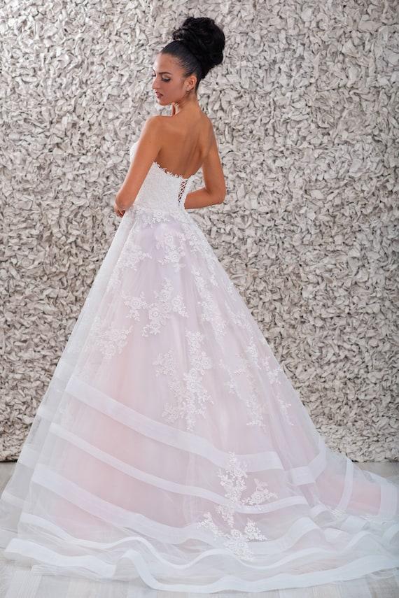 Suknia ślubna Suknia ślubna Bez Rękawów Suknia ślubna Etsy