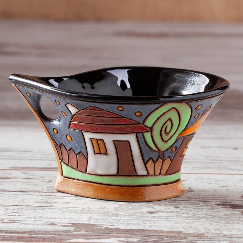 Coffee cup Espresso cup Ceramic mug Handmade mugs Pottery image 2