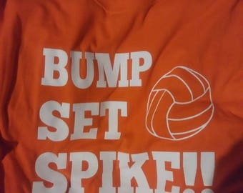 01c5668ae Volleyball Bump, Set, Spike shirts