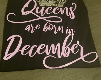 Queens are born in December!