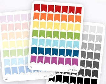 Medium Flag Stickers   Functional Stickers   Rainbow Stickers   Page Flags   Erin Condren Life Planner Stickers   Bullet Journal Stickers