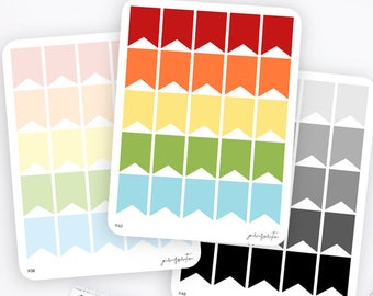 XL Flag Stickers   Functional Stickers   Rainbow Stickers   Page Flags   Erin Condren Life Planner Stickers   Bullet Journal Stickers