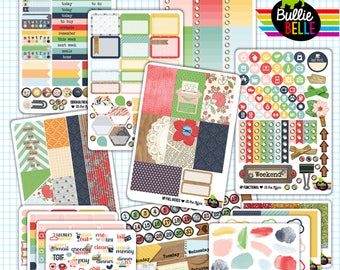 At the Office - HP Vertical Weekly Planner Sticker Kit - use with MAMBI Happy Planner - Planner Stickers