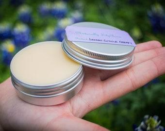 Lemon Scented Cuticle Cream