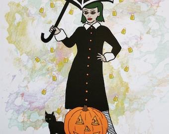 October Forever Art Print